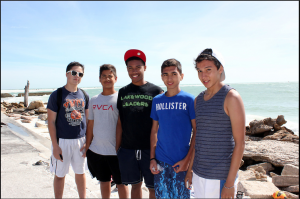 Island Visitors