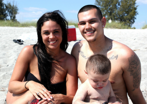 Samantha, Ricky, and Ricky Jr. from Tampa