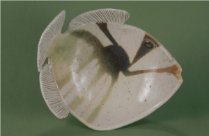 Trigger Fish Plate by Ann Darling