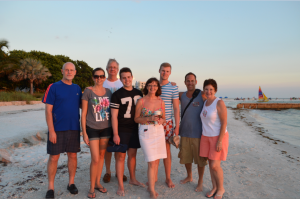 Chris from SRQ, Ian from England, Emma from SRQ, Myra, Stewart, Graeme from England, Mike and Janet from SRQ.