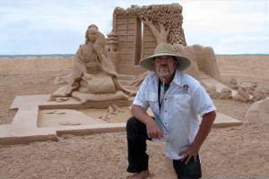 Master Sand Sculptor Brian Wigelsworth
