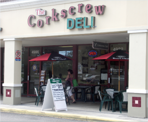 Deli food galore at Corkscrew Deli in Landings Plaza
