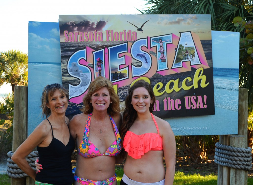 Diana from Punta Gorda, Laura and Jessica from MI