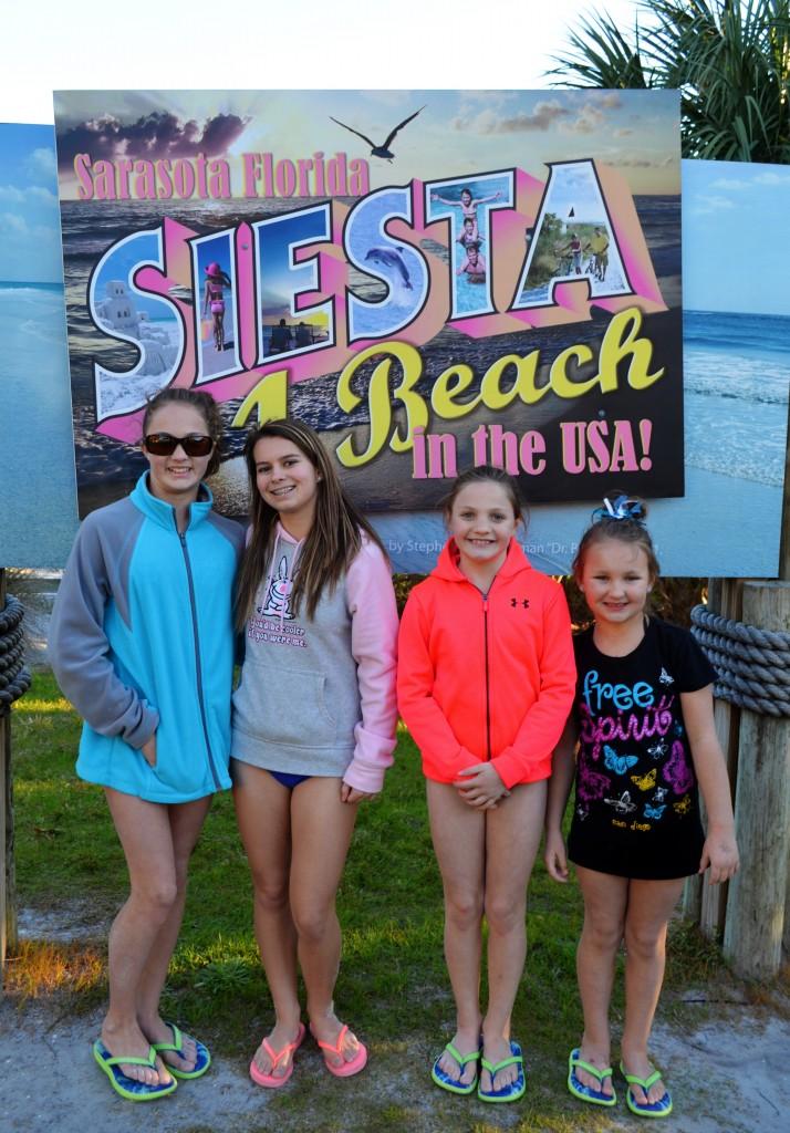 McKenzie (13), Allie (15), Abbie (10), Chloe (7)