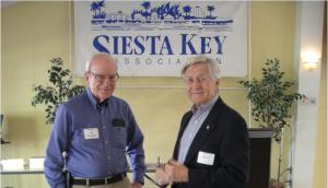 Two Outstanding SKA Board Members Retire