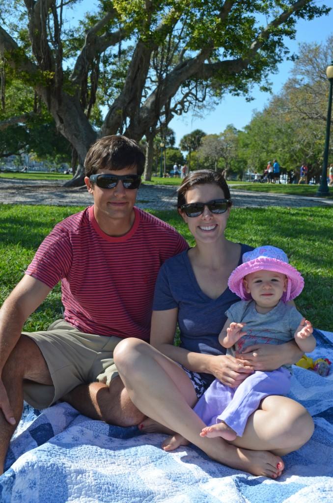 Peter, Nina, and Capri(8mos) from Sarasota