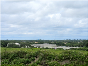 Pictured above, the Bee Ridge water reclamation facility east of I-75 just north of Rothenbach Park. When Siesta Key's treatment plant is decommissioned – planned for the end of 2016 –  the wastewater now treated on the Island will be pumped to this and other county facilities for treatment. Photo by R. Frederickson