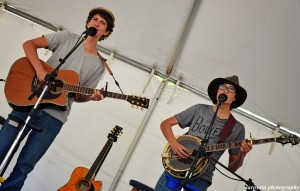 The Anderson Brothers, Bradley(16) and Brett(15) play guitar, fiddle and banjo. Their music style is Folk, Americana, and Newgrass with Gospel roots. They are homeschooling and are from Old Myakka FL.
