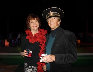 Our very own Diana Colson and husband Frank attending one of the parties for the Sarasota Film Festival.