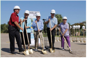 Loveland Village groundbreaking pic