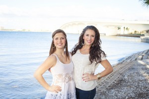 Adrienne from MI and her sister Meredith from Sarasota (Photo by Lauren Bates)