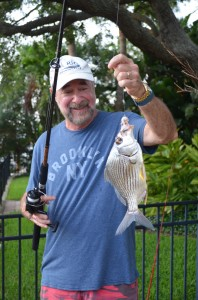 Bobby from KY relaxing with a bit of fishing.