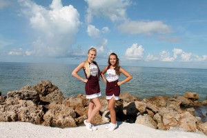 Jrs at RHS in Sarasota, (l-r) Carly and Brooklyn.