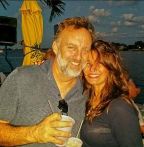 Troy with fiancee Nanci