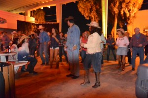 Well shucks, can't have a Hoedown without some good 'ole country music, and of course, line dancing.