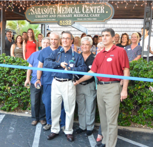 The Sarasota Medical Center comes to Siesta Key