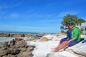 Katie & Mike from Michigan.  Love the village, the beach, the soft quartz sand.  First visit and will definitely be back!