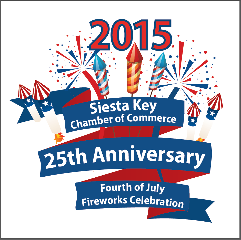 Siesta Key to Celebrate 25th Fireworks Anniversary