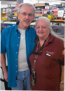 Jeanetta with Dick Smothers
