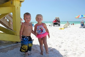 Cameron, Annabelle both age 2 from Lakeland, Fl.