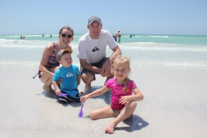 Katie, Payton age 4, Darren, Deacon age 2, from Ontario (Canada)