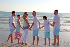 Brendan 18, Taryn 10, Debbie, Cameron 16, Trevor 13, Paul from NY