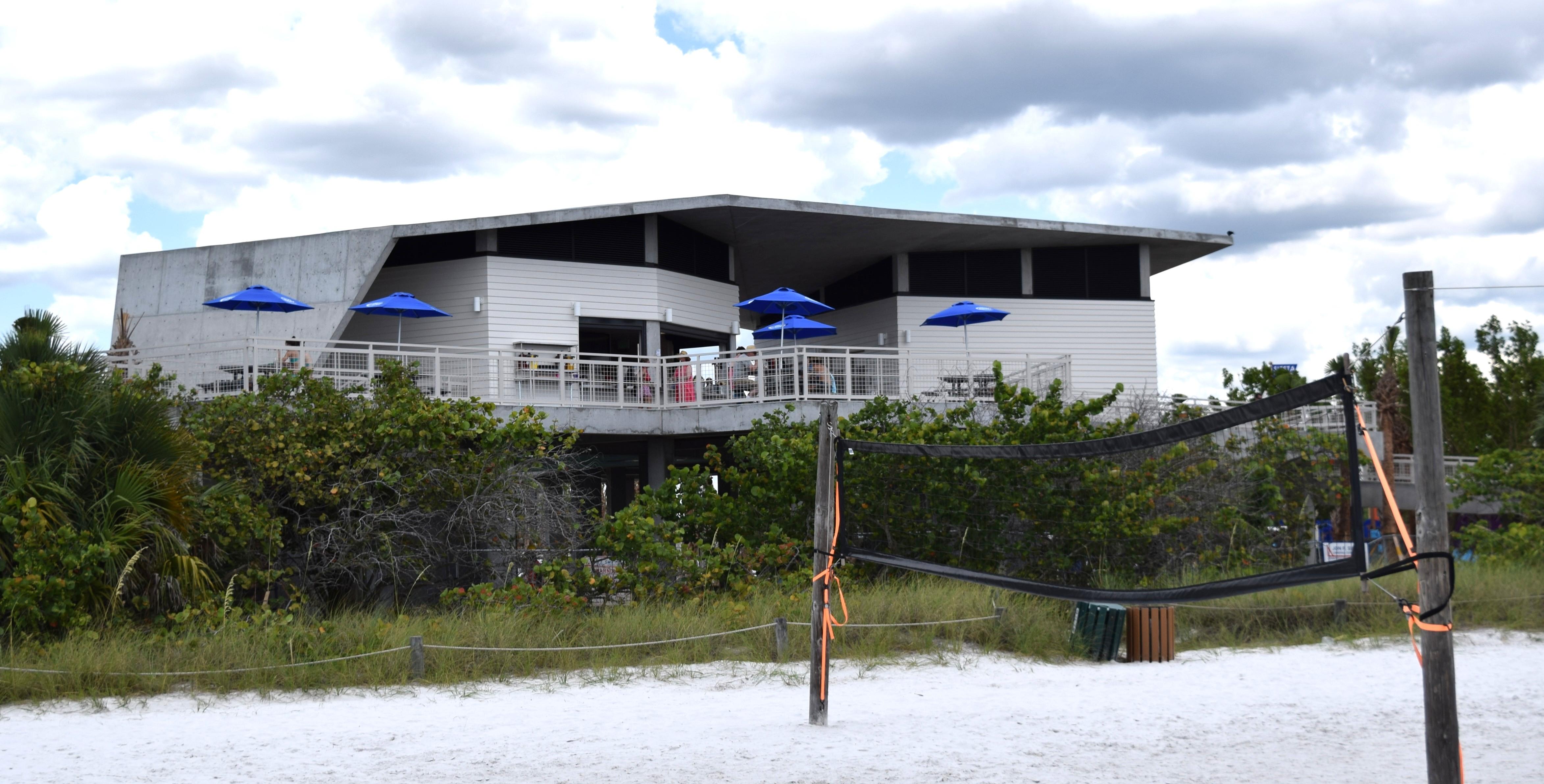 Sunset Pavilion open for business
