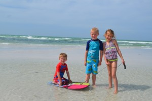 Dylan age 4, Liam 6, Hallie 8 – from PA.