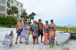The Ortega family from Miami, Fl.