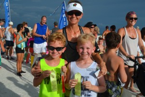 Zach age 8, Jake age 9, Marla from Sarasota