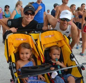 Kristy, Dave, Jessie age 4, Lyla age 2 from Sarasota