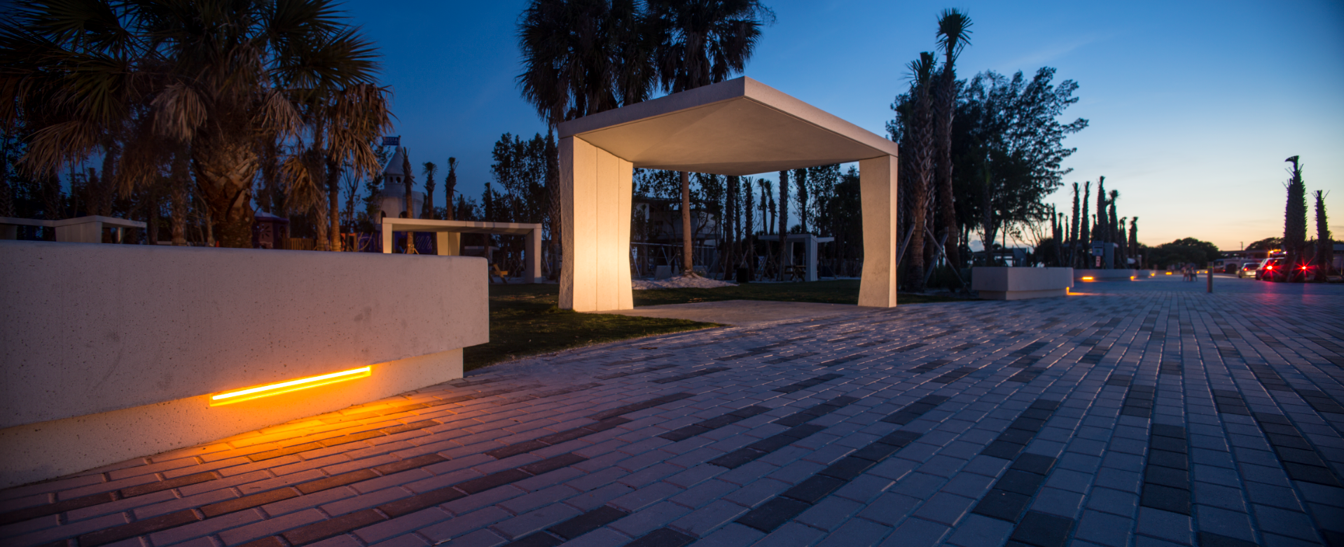 New beach picnic shelters earn architectural nod