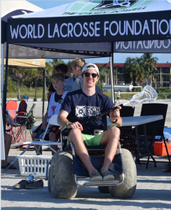 This event was dedicated to and attended by Jack Enright, a high school lacrosse player who broke his neck 6 months ago during a lacrosse game in South Carolina.