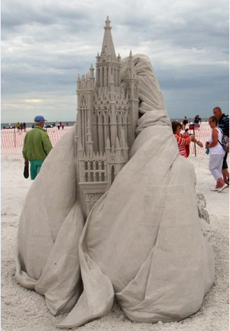 Sand Sculpting 2015 5