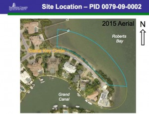 Couple file in 12th Circuit Court to overturn county's denial of their proposal to build a dock on Siesta Key Circle