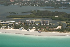 Surrounded by water, the Pointe makes an impression