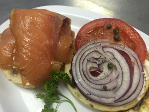 Lox & Bagel at the Fish Market
