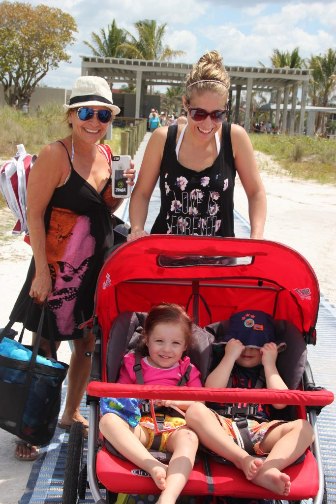 Elda, Christine, Luna age 2, Lucas age 2, from OH.