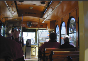 Trolleys can help lend a small-town ambience for both visitors and residents