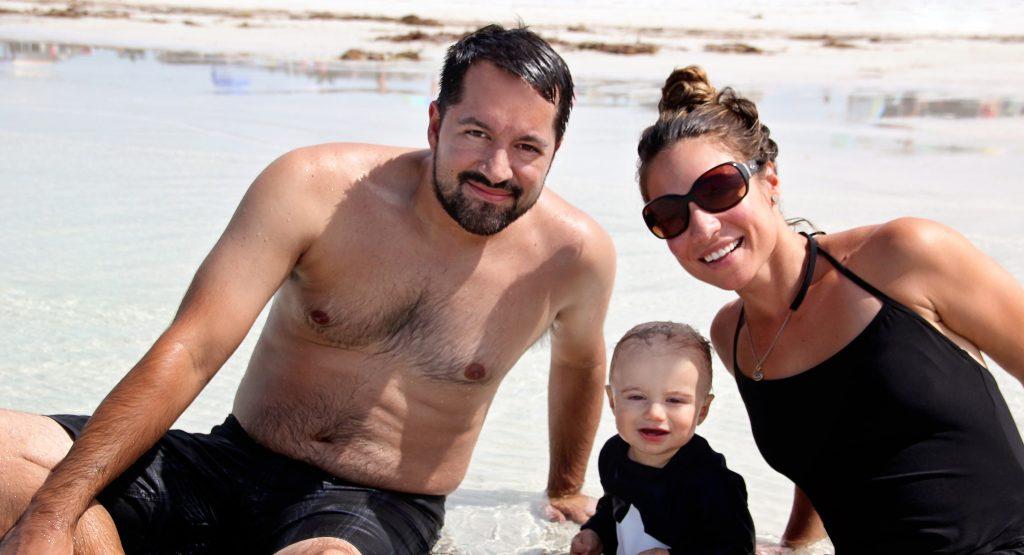Justin, Jake 10 months, Alissa from Sarasota