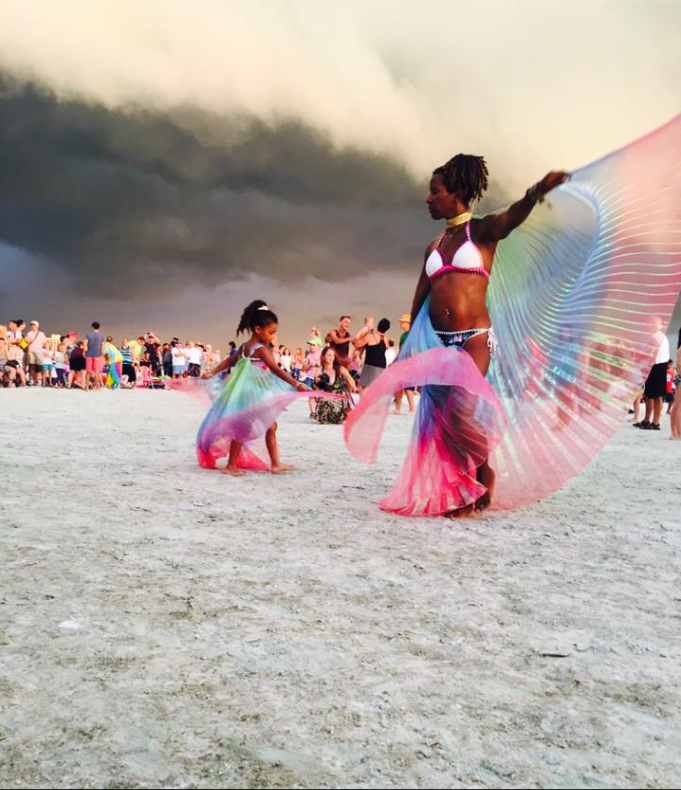 This beautiful photo was taken at Siesta Key's Sunday Drum Circle  courtesy of Cory Wilson.