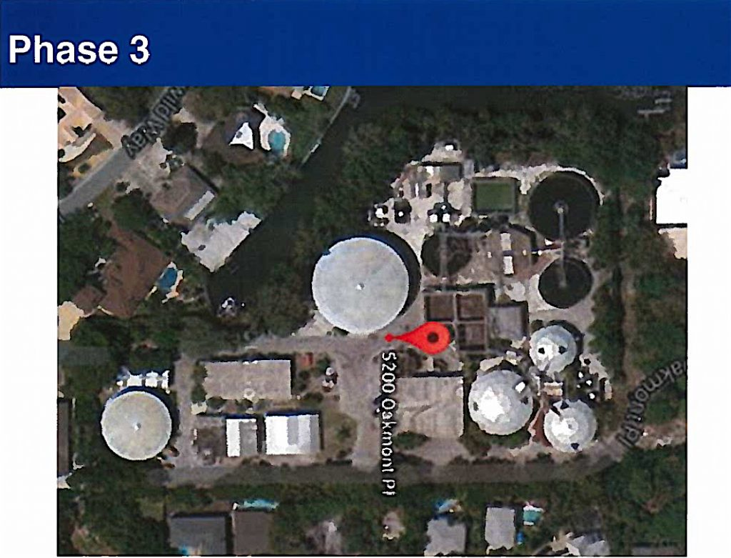 waster water plant siesta key