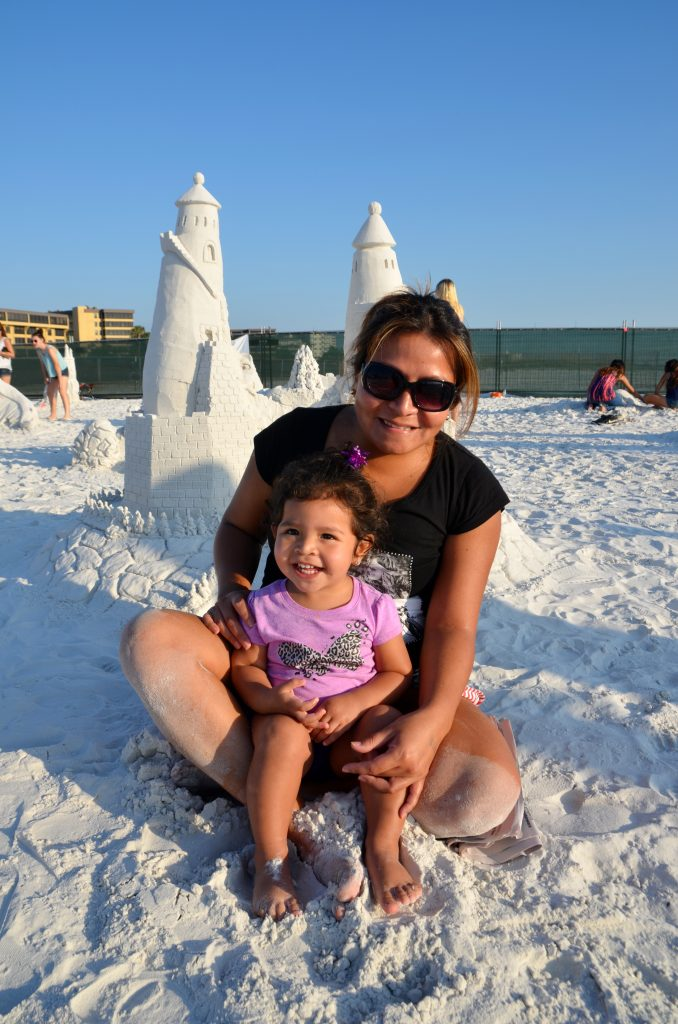 Fabiola & Niza age 1