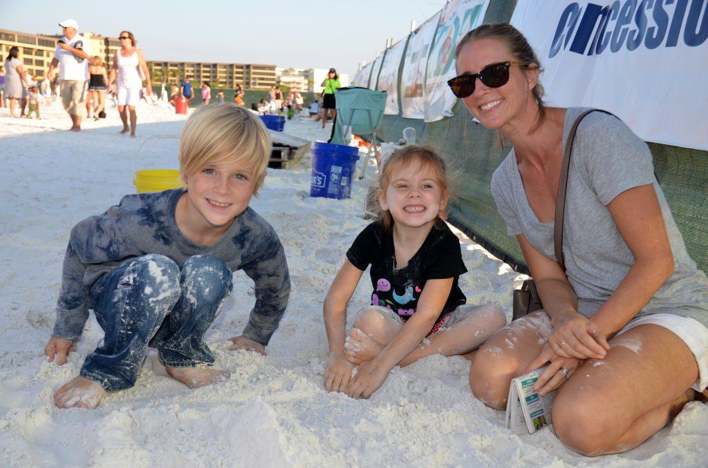Cale age 7, Mila age 4, Liz from Sarasota