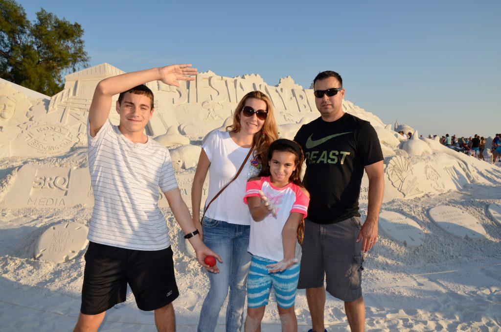 Rafael, Maryori, Brianna age 9, Rafael from Tampa