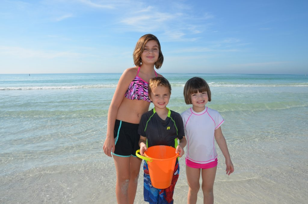 Kaley age 11, Nicholas age 5, Erin age 5 – from Punta Gorda