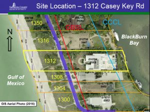 Casey Key chickee hut aerial with GBSL via Lin for BCC Jan. 11 2017