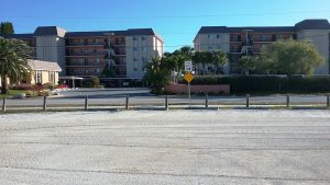 Regraded parking lot at old Turtle Beach Park lot via Carolyn Brown Jan. 17 2017 small