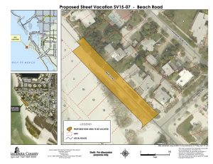 April hearing date set for North Beach Road vacation lawsuit filed by Siesta resident