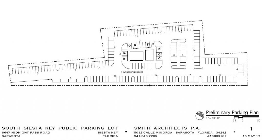 siesta key parking rendering